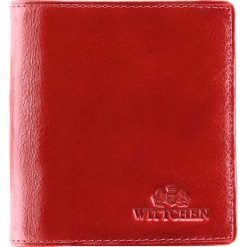 Portfel 21-1-065-3. Czerwone portfele damskie marki Wittchen. Za 219,00 zł.