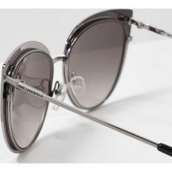 Okulary przeciwsłoneczne damskie: KARL LAGERFELD Okulary przeciwsłoneczne shiny gunmetal