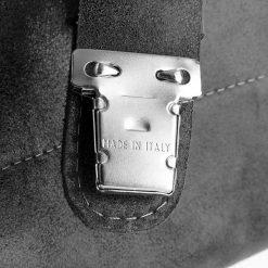 RANGER Skórzana torba Paolo Peruzzi Czarna. Czarne torby na ramię męskie Paolo Peruzzi, w paski, ze skóry, na ramię, duże. Za 349,00 zł.
