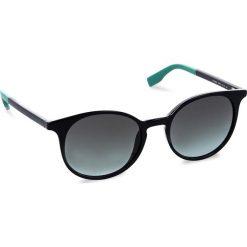 Okulary przeciwsłoneczne BOSS - 0288/S Blue PJP. Niebieskie okulary przeciwsłoneczne damskie aviatory Boss. W wyprzedaży za 389,00 zł.