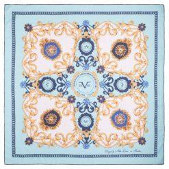 Chusty damskie: Versace 19.69 Chusta Damska Niebieski Kingdom
