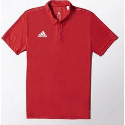 Adidas Koszulka męska Core 15 czerwona r. M. Czerwone koszulki polo marki Adidas, m. Za 100,02 zł.