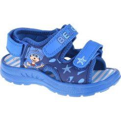 Sandały chłopięce: BEJO Sandały Dziecięce Minti Kids Lake Blue r. 23