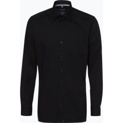Finshley & Harding - Koszula męska łatwa w prasowaniu, czarny. Czarne koszule męskie na spinki Finshley & Harding, m, z bawełny, z klasycznym kołnierzykiem. Za 129,95 zł.