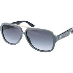 """Okulary przeciwsłoneczne męskie aviatory: Okulary przeciwsłoneczne """"0021/S RNH/HD"""" w kolorze szarym"""
