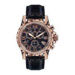 """Zegarki męskie: Zegarek """"R10300-RG-IP-B"""" w kolorze czarno-różowozłotym"""