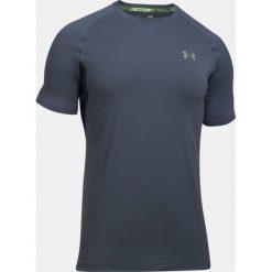 Under Armour Koszulka męska UA Transport Short Sleeve szara r. L (1289322-962). Szare koszulki sportowe męskie marki Under Armour, l, z dzianiny, z kapturem. Za 184,57 zł.