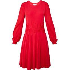MICHAEL Michael Kors ELEV COMBO DRES Sukienka z dżerseju true red. Czerwone sukienki dresowe marki MICHAEL Michael Kors, xs. W wyprzedaży za 579,50 zł.