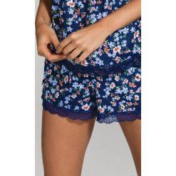 Piżamy damskie: Dorina – Szorty piżamowe Julie-Floral