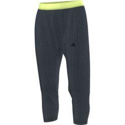 Spodnie dresowe damskie: Adidas Spodnie męskie Gym Style 3/4 Pant  szary r. S (AB5847)