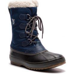 Buty zimowe męskie: Śniegowce SOREL - 1964 Pac Nylon NM1440 Collegiate Navy/Carbon 465