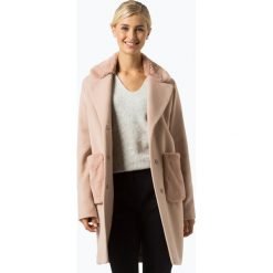 Marie Lund - Płaszcz damski z dodatkiem kaszmiru, różowy. Czerwone płaszcze damskie pastelowe Marie Lund, z kaszmiru, klasyczne. Za 999,95 zł.