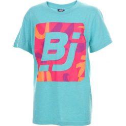 T-shirty chłopięce: BEJO Koszulka dziecięca Logo BJ niebieska r. 164