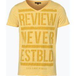 Review - T-shirt męski, żółty. Żółte t-shirty męskie z nadrukiem Review, m. Za 39,95 zł.