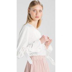 Bluzki asymetryczne: Vila VIJENNER BOW  Bluzka white