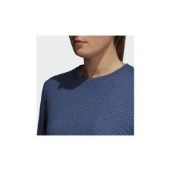 Bluzy adidas  Bluza Climalite Performance. Niebieskie bluzy damskie Adidas, l. Za 249,00 zł.