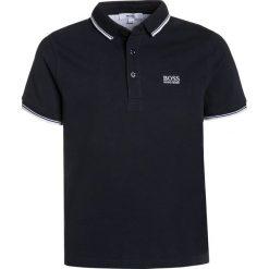 BOSS Kidswear MANCHES COURTES Koszulka polo bleu cargo. Niebieskie t-shirty chłopięce marki BOSS Kidswear, z bawełny. Za 209,00 zł.