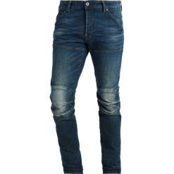 GStar 5620 3D SLIM Jeansy Slim Fit beln denim. Niebieskie rurki męskie G-Star. W wyprzedaży za 419,25 zł.