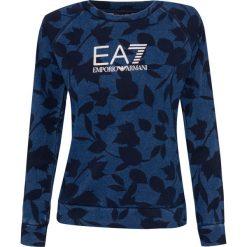 Bluzy rozpinane damskie: Bluza EMPORIO ARMANI EA7 Niebieski|Print