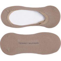 Tommy Hilfiger - Skarpetki Ballerina Step(2-pak). Szare skarpetki damskie TOMMY HILFIGER, z bawełny. Za 35,90 zł.