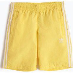 Adidas Originals - Męskie spodenki kąpielowe, żółty. Żółte kąpielówki męskie adidas Originals, l, w paski, do pływania. Za 179,95 zł.