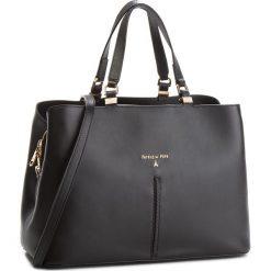 Torebka PATRIZIA PEPE - 2V8422/A2OI-K103 Nero. Czarne torebki klasyczne damskie marki Patrizia Pepe, ze skóry. W wyprzedaży za 1249,00 zł.