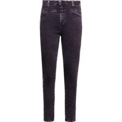 Rurki damskie: CLOSED PUSHER Jeans Skinny Fit black marvel