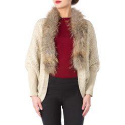 81-9F-008-9 Sweter damski. Brązowe swetry klasyczne damskie Wittchen, uniwersalny, z materiału. Za 399,00 zł.