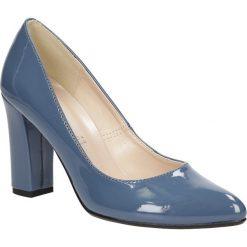 Czółenka na słupku Casu 1704. Czerwone buty ślubne damskie marki Casu, na słupku. Za 99,99 zł.