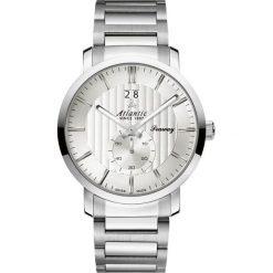 Zegarek Atlantic Męski Seaway 63365.41.21 Szafir srebrny. Szare zegarki męskie Atlantic, srebrne. Za 1251,99 zł.