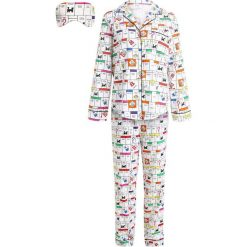 Piżamy damskie: GAP HASBRO SLEEP SET  Piżama monopoly