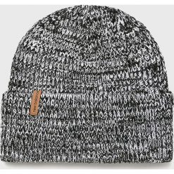 New Balance - Czapka. Szare czapki zimowe męskie New Balance, na zimę, z dzianiny. Za 89,90 zł.