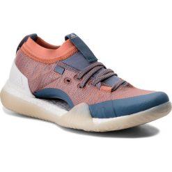 Buty adidas - PureBoost X Trainer 3.0 CG3526  Rawgre/Chacor/Crywht. Niebieskie buty do fitnessu damskie marki Salomon, z gore-texu, na sznurówki, gore-tex. W wyprzedaży za 419,00 zł.