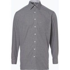 OLYMP Luxor comfort fit - Koszula męska niewymagająca prasowania, czarny. Czarne koszule męskie non-iron marki Cropp, l. Za 129,95 zł.