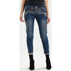 One Teaspoon FREEBIRDS LOW WAIST RIGID SKINNY  Jeans Skinny Fit tuscany. Niebieskie boyfriendy damskie One Teaspoon. W wyprzedaży za 983,20 zł.