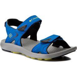 Sandały COLUMBIA - Techsun BM4511 Blue Magic/Zour 426. Niebieskie sandały męskie skórzane marki Columbia. W wyprzedaży za 179,00 zł.