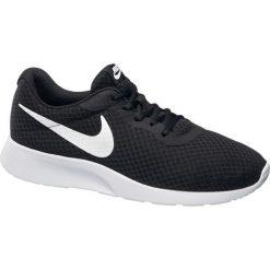 Buty męskie Nike Tanjun NIKE czarne. Czarne buty do biegania damskie marki Nike, z materiału, nike tanjun. Za 279,90 zł.