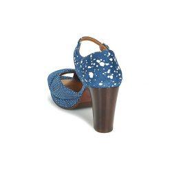 Sandały Chie Mihara  GADA. Niebieskie sandały trekkingowe damskie Chie Mihara. Za 975,20 zł.
