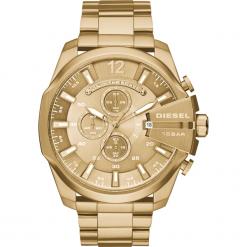 Zegarek DIESEL - Mega Chief DZ4360 Gold/Gold. Żółte zegarki męskie Diesel. Za 1099,00 zł.