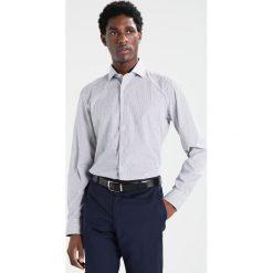 Koszule męskie na spinki: Eterna SLIM FIT HAI AUSPUTZ Koszula biznesowa grau