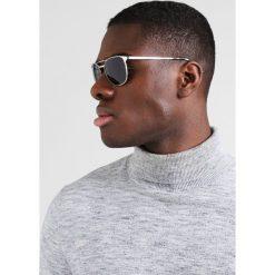 Okulary przeciwsłoneczne męskie aviatory: RayBan Okulary przeciwsłoneczne silver