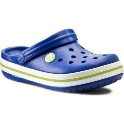 Klapki CROCS - Crocband Kids 10998  Cerulean Blue/Volt Green. Niebieskie klapki chłopięce marki Crocs, z tworzywa sztucznego. Za 129,00 zł.