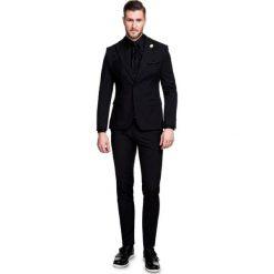 Garnitur z Jaguarem GACE000052. Czarne garnitury Giacomo Conti, z elastanu. Za 799,00 zł.