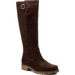 Oficerki LASOCKI - SYRENA-01 Brązowy. Brązowe buty zimowe damskie Lasocki, ze skóry, na obcasie. Za 299,99 zł.