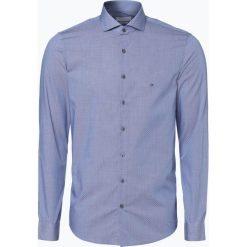 Koszule męskie na spinki: Calvin Klein – Koszula męska łatwa w prasowaniu, niebieski