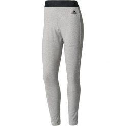 Spodnie sportowe damskie: Adidas Spodnie Away Day Tight szare r. L (BQ1640)