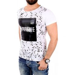 T-shirty męskie: CRSM T-shirt męski biały r. M (16011-1)