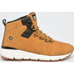 DC - Buty. Szare buty trekkingowe męskie DC, z materiału, na sznurówki, outdoorowe. Za 579,90 zł.