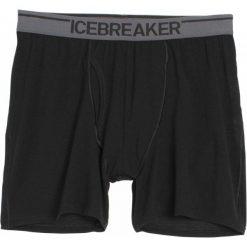 Bokserki męskie: Icebreaker Bokserki Mens Anatomica Boxers Black/Monsoon Xxl