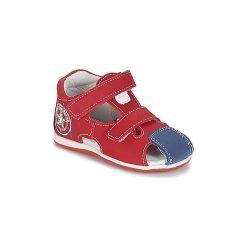 Sandały Dziecko  André  LE MARIN. Czerwone sandały chłopięce Andre. Za 159,20 zł.